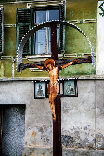 Crucifix in Mosna Village