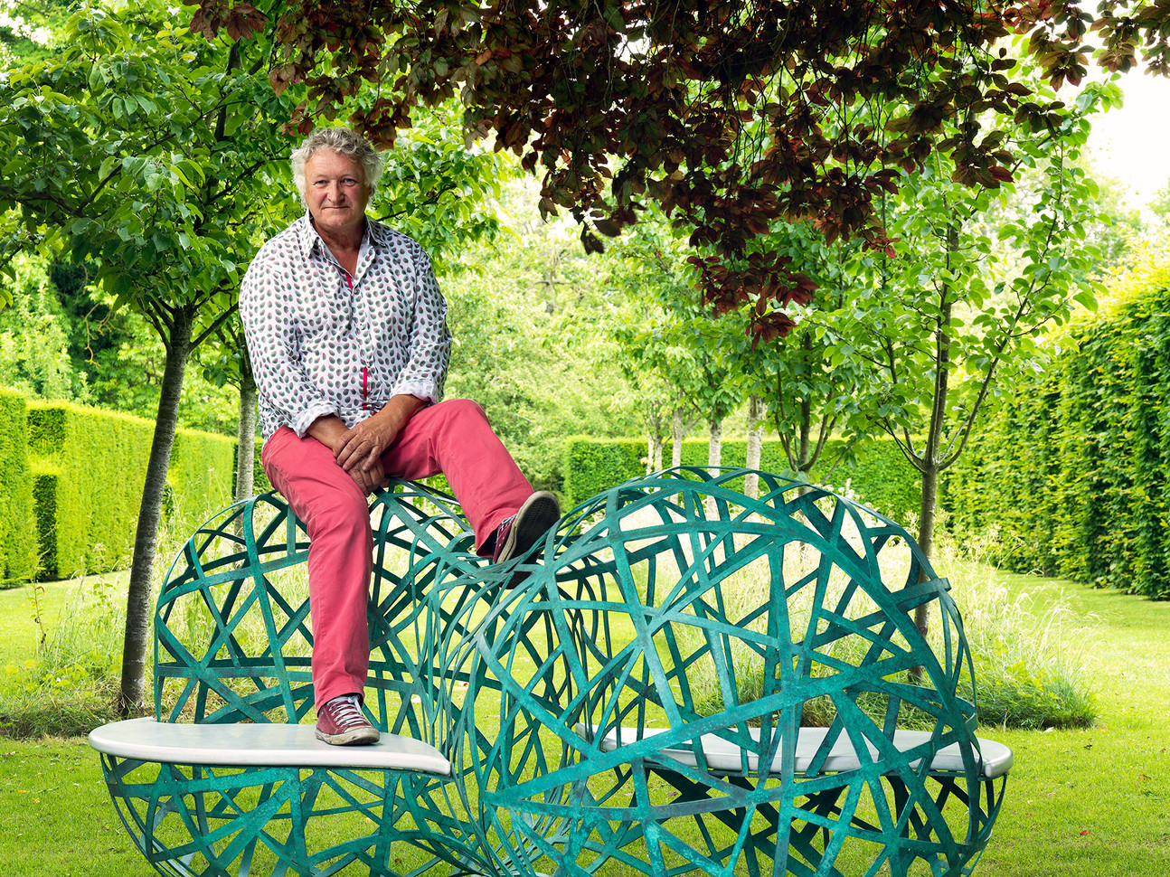 David Harber, Sculptures for Gardens, for Country Life