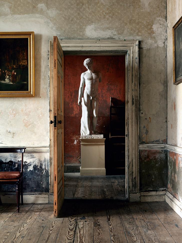 Statue Through Doorway, Ireland_LowRes.