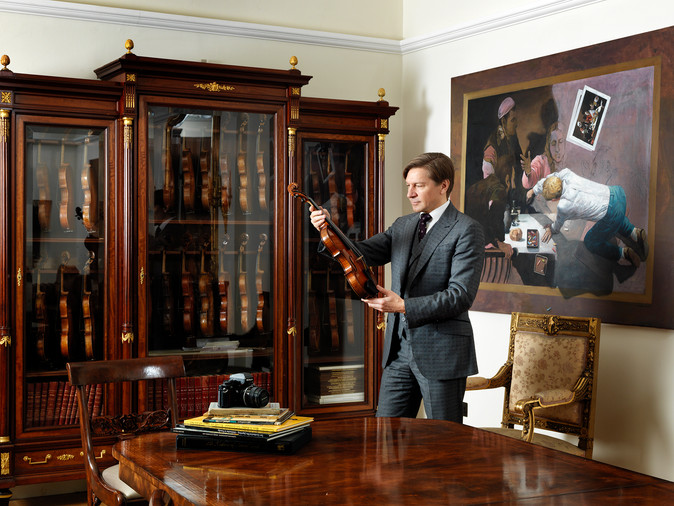 Florian Leonhard, Violin Maker, Restorer, Dealer & Expert for Telegraph Magazine