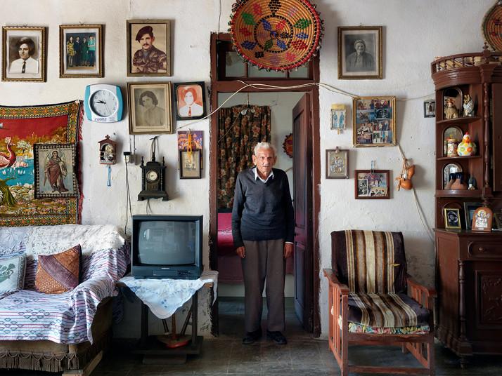Kyrios Achelleous in the Doorway in Droushia
