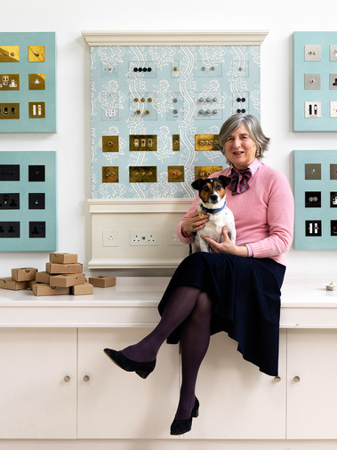 Serena Herbert of Forbes & Lomax for Country Life