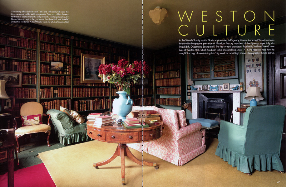 Weston Culture, for The World of Interiors 2019