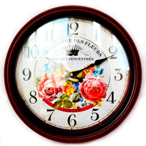 """Часы настенные """"Дивные розы"""""""