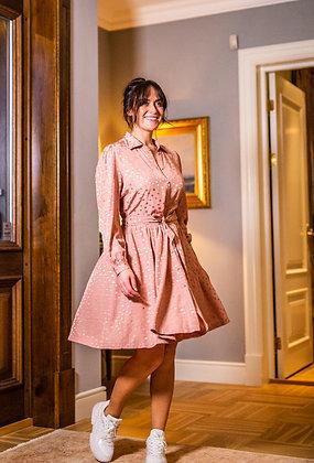 Jolin kjole kort pink