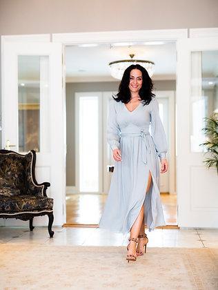 Amaia Olivia midi kjole Breeze Mint