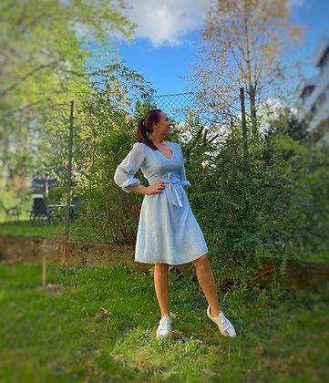 Coline Olivia kort lyseblå