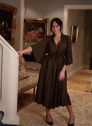 Evelyn E kjole midi