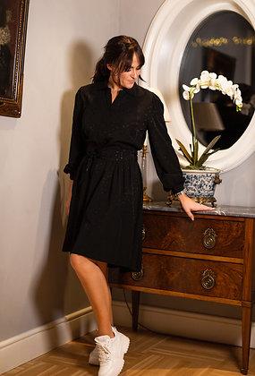 Jolin kjole kort i sort
