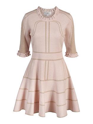 Aia G dress shortsleeve rosa