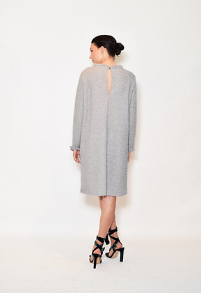 Elise S dress grå
