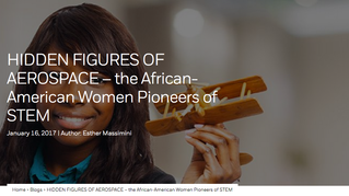 HIDDEN FIGURES OF AEROSPACE – the African-American Women Pioneers of STEM