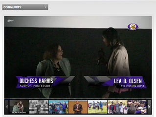 The Vikings interview Duchess for Black History Month series