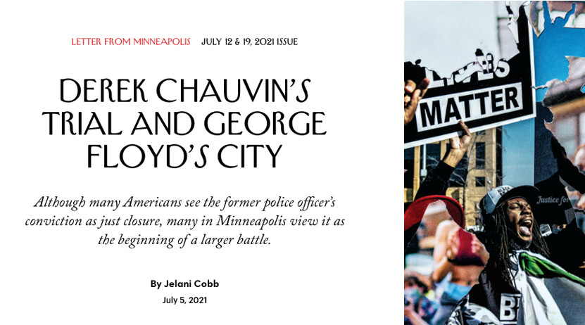 Harris Quoted in The New Yorker