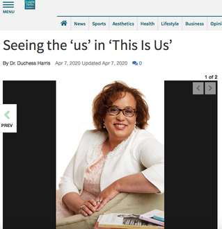 "Harris explores ""This is Us"" for Insight News"