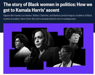 NBC: Harris Comments on Black Women in Politics & Kamala Harris