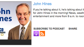 Listen to Harris' interview with John Hines