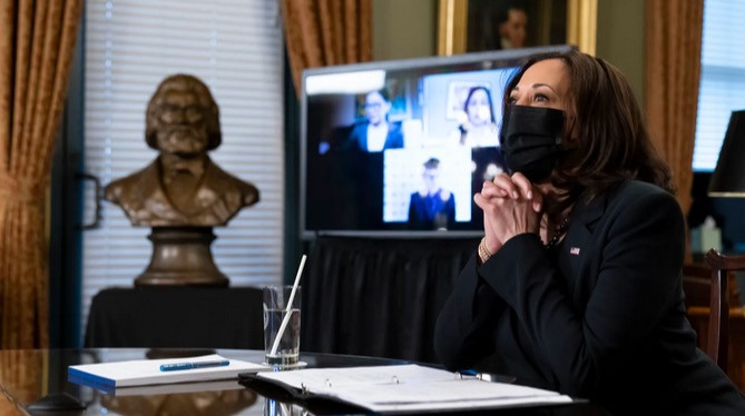 USA Today: Duchess Contributes to Article on Vice President Harris' First 100 Days