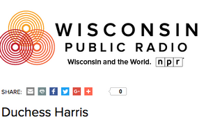 Duchess Appears on Wisconsin Public Radio