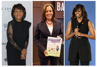 Harris Talks about Black Women Seizing the Political Stage