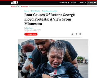 Harris Explores George Floyd Protests with WBEZ