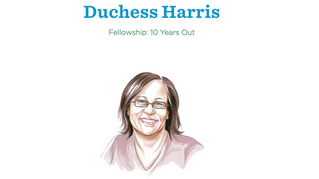 Bush Foundation Magazine Interviews Harris