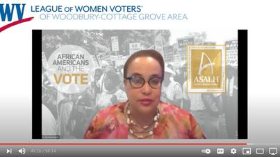 WATCH: Harris Presents on Black Women in Politics