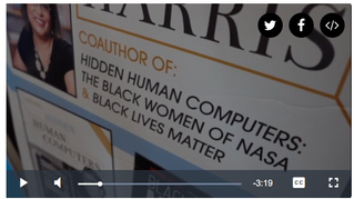 VIDEO: Harris Explores Legacy of Hidden Figures on The Denver Channel
