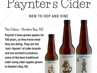 Now Distributing Paynter's Cider