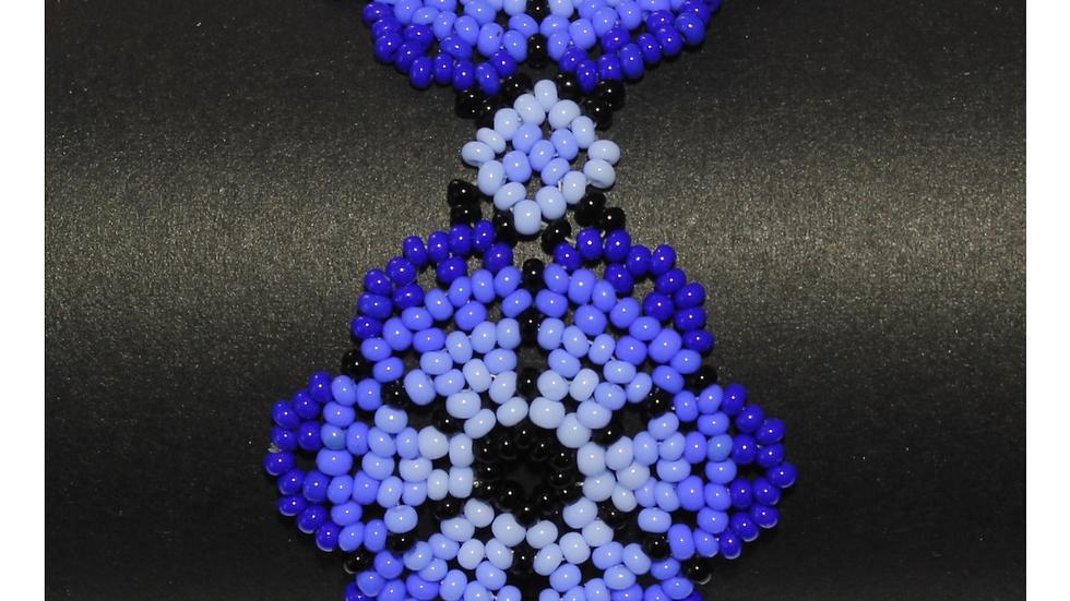 Pulsera flor desértica azul