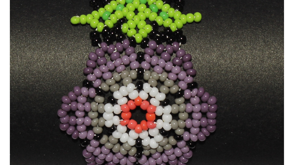Pulsera flor desértica 3D 12
