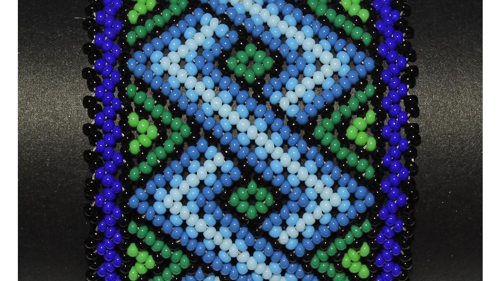 Pulsera con secuencia de rombo