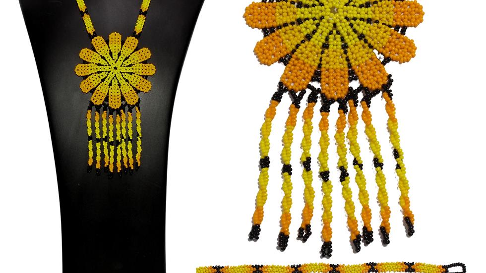 Collar de flores (Sol)
