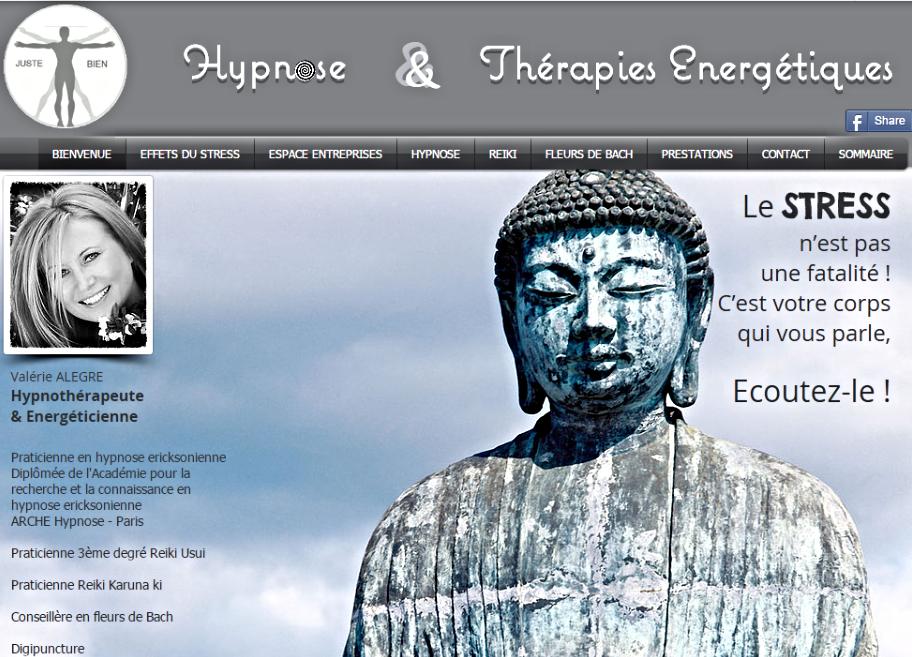 Accueil du site Valérie ALEGRE