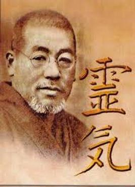Mikao Usui, moine japonais, a redécouvert cette technique au Japon, il y a près d'un siècle.    Il passa une grande partie de sa vie à la recherche des clefs de la guérison physique et spirituelle qu'il retrouva dans les écritures bouddhiques.    Il enseignera cet art d'imposition des mains durant toute sa vie et fondera une clinique de REIKI à Kyoto. Valérie ALEGRE Hypnose Pyscho-énergétique Juste Bien 78