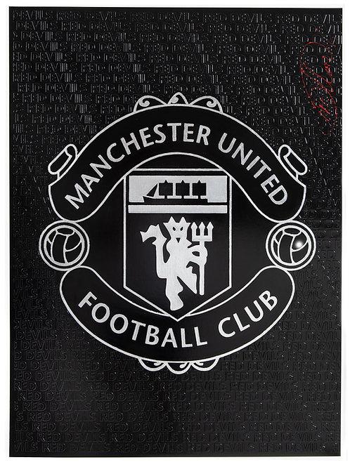Man United Crest Print