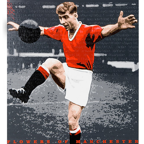 Duncan Edwards -Flowers of Manchester