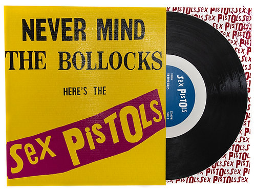 Sex Pistols - Never Mind the... Print
