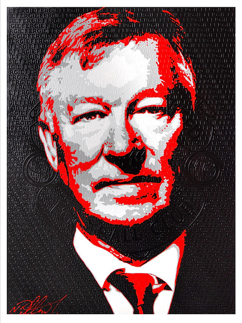 Alex Ferguson with Crest Original