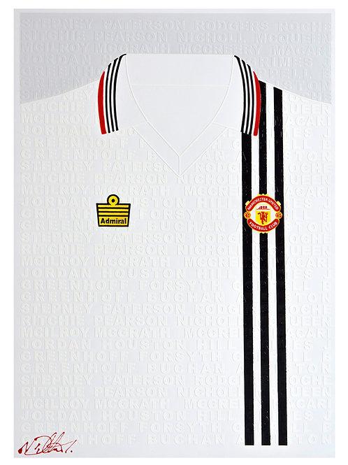 Baby Manchester United 1977 Away Shirt