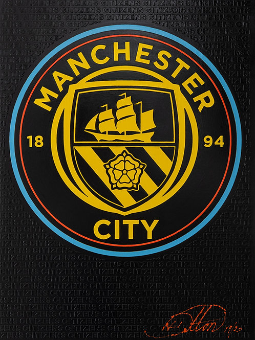Manchester City Crest - Citizens