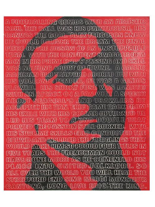 Eric Cantona Print