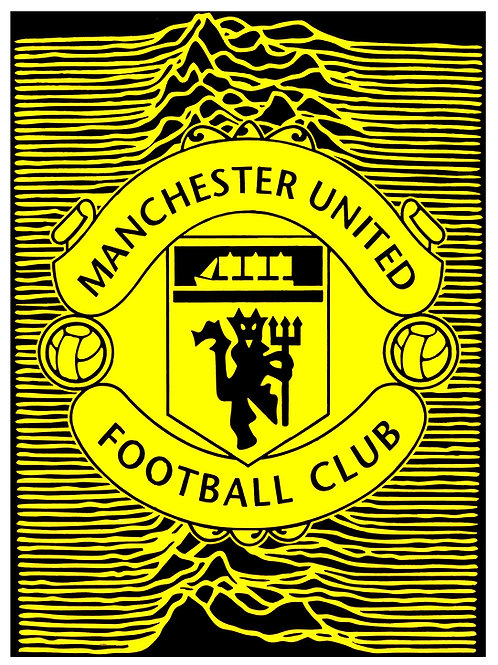 Manchester United Unknown - Yellow and Black