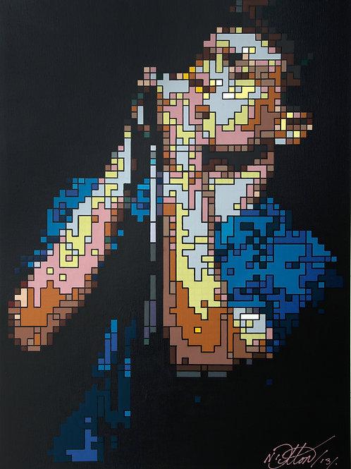 Ian Curtis - Print