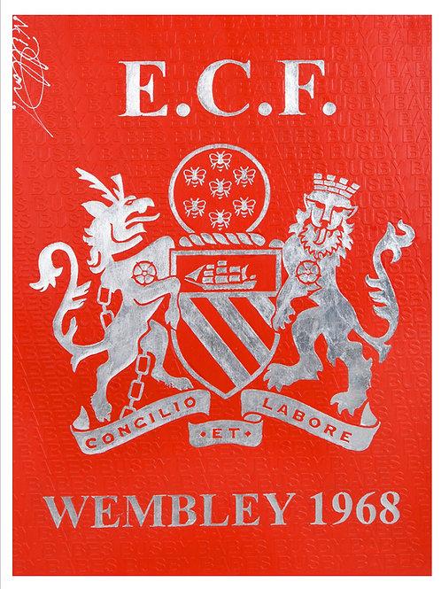 ECF Wembley 1968 Print