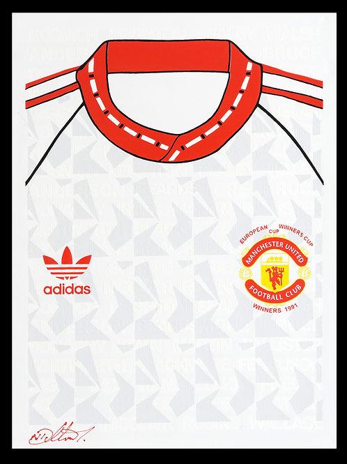 Manchester United European Cup Shirt