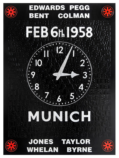 Manchester United Clock