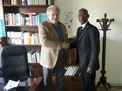 Carlo Tomasi ed Edmund Agbo