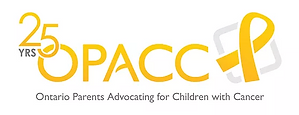 Ontario parents advocating for children with cancer logo