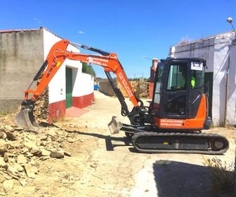 excavadora 5 toneladas